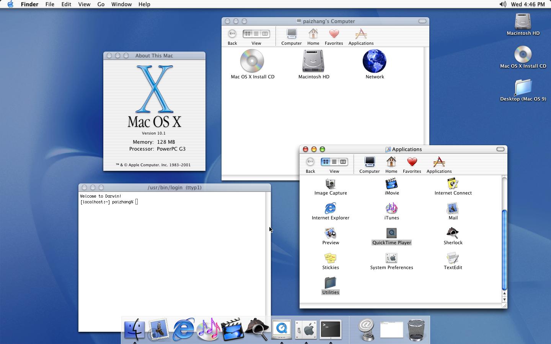 使用PearPC在Windows下运行早期版本的Mac OS X