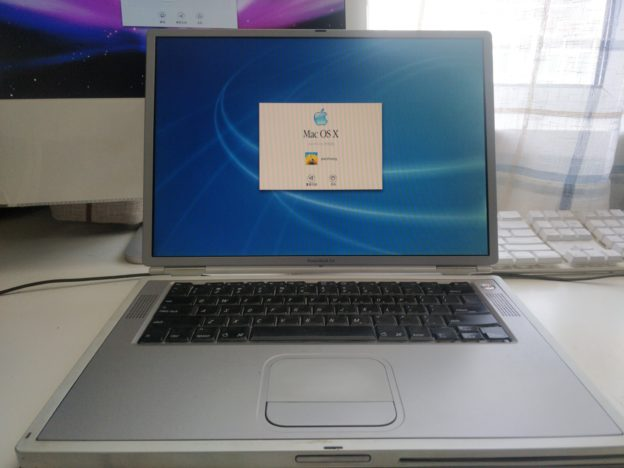 钛合金PowerBook G4初体验