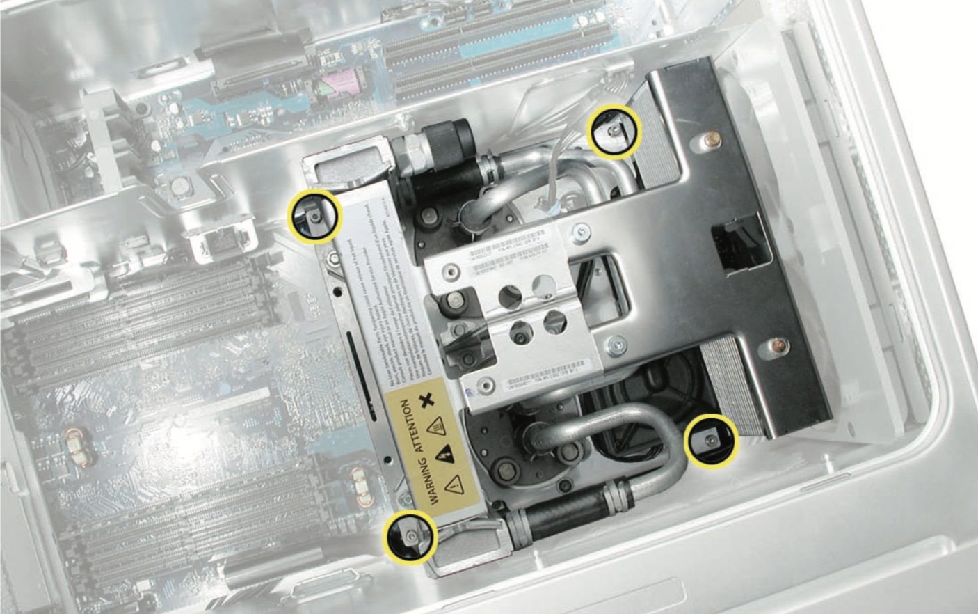 Power Mac G5上的水冷系统(LCS)