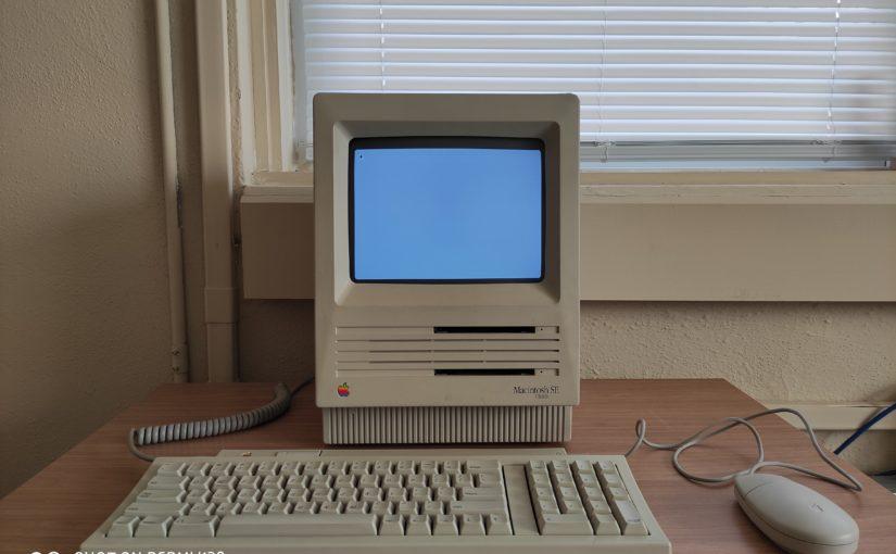 苹果早期Mac的标杆,Macintosh SE FDHD(1989)体验